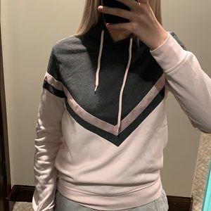 Zumiez light pink and grey sweatshirt!